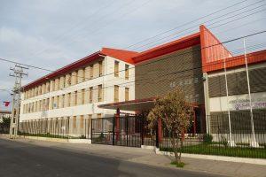Frontis Liceo Domingo Ortiz de Rozas